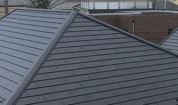 広島県広島市 屋根塗装  高圧洗浄 ケレン作業 日本ペイント 遮熱塗料 サーモアイ