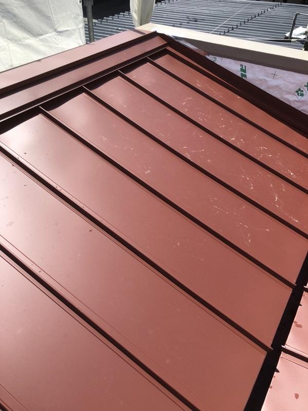 広島県広島市 屋根カバー工法(重ね葺き工事) 雨漏り