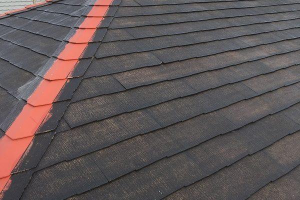 広島県広島市 屋根板金工事 棟包み板金 樹脂製の貫板設置 スクリュービス